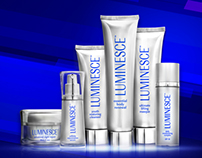 Luminesce Products Redesign Banners