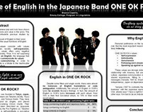 ONE OK ROCK Research Symposium Poster