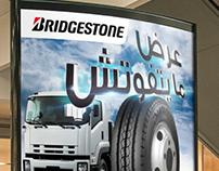 Bridgestone Promotion Poster