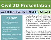 Civil 3D Event Announcement