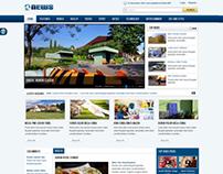 SJ News - Free responsive Joomla news template