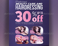 Hair & Beauty Rollup Banner