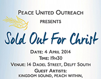 Sold Out For Church Event Poster