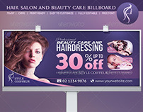Hair & Beauty Billboard