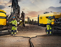Atlas Copco ads