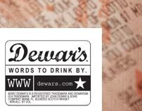 Dewar's Print Campaign (pitch)
