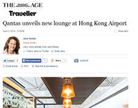 THE AGE - QANTAS HONG KONG LOUNGE