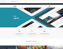 Agent | WordPress Theme