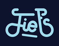 Fiets* Lettering (*bicycle in Dutch) | Graphic Design