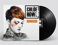 Redesign Chloe Howl's Rumour cover by Inés Ortega