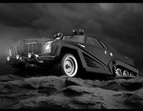 "Concept car ""GUIRRA"""