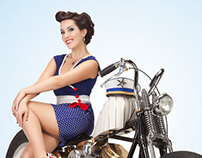 Delicious Pin-Up Bikes&Tattoo
