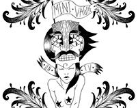 "Artwork for ""On TV"" Mini Vague EP"