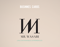 Business Cards - MR.Wasabi