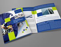 Company Brochure Bi-Fold Template Vol.22