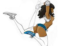 Jump Sketch