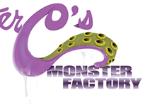 Mr. C's Monster Factory logo