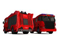 City Fire Truck Concept