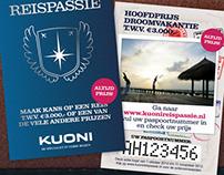 KUONI. Reispassie / Travel Pass-ion. Online Campaign.