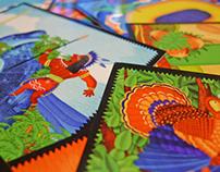 Illustration. ABC Cards and iPad app