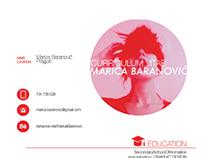 Curriculum Vitae Marica Baranovič