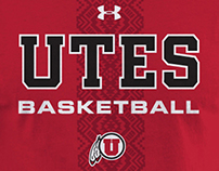 Utah Utes Shirt Designs and Athletics Pattern