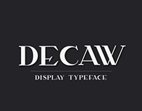 Decaw | Typeface