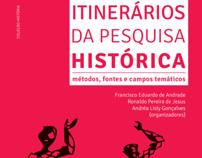 """Capa """"Itinerários da Pesquisa Histórica"""""""