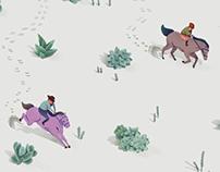 Succulent Desert Rider