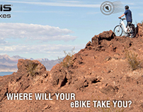 Where Will Your eBike Take You?  Lake Mead, NV