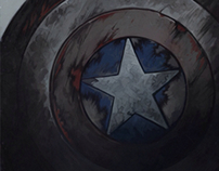 Captain America - Winter Soldier art