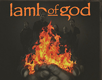 "Lamb of God ""As The Palaces Burn"" Key Art Finish"