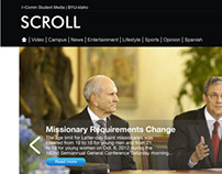 Scroll News Website | Responsive Web Redesign
