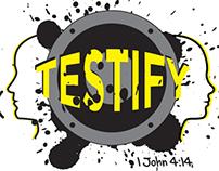 Testify Camp Logo