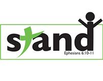 Stand Kid's Camp Theme Logo