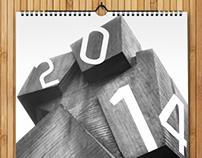 B/W Calendar 2014