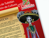 Cartel Convocatoria Calaveritas