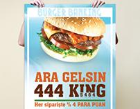 Burger King Campaning Posters
