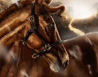 Horse Digital Paint