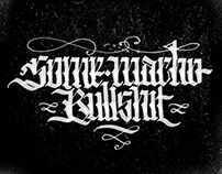 Calligraphy - Mar. 2014