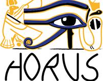 Corporate Identity Horus Restaurant