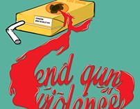 AIGA Gun Violence Poster