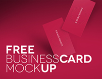 FREE BUSINESS CARDS MOCK UP