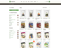 Healthy Food Shop WordPress Theme