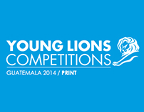 Gold Young Lions / Print