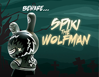 Beware the wolfman spiki!