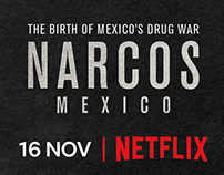 NARCOS MEXICO PRESS ADS