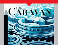 Hoarding for Caravan Magazine