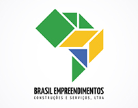 Brasil Empreendimentos Logo Design