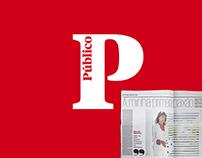 Paginação no Jornal Público